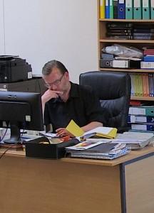Minister Neil Johnson