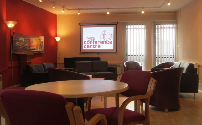 Lounge at Carrs Lane Conference Centre