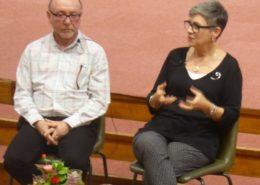 Rev Gretta Vosper and Scott Kearns, speakers for the 2016 Carrs Lane Lectures in Radical Christian Faith