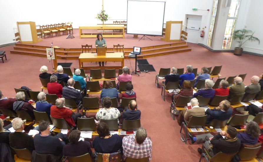 worship in the church at Carrs Lane B4 7SX