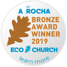 A Rocha Eco Church Bronze Award 2019