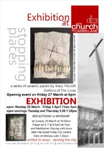 Lent Mary Flitcroft ceramic exhibition