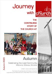 Cover image of Journey Autumn 2020 - celebrating Christmas 2019 with the community and guests