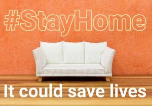 #StayHome It could save lives